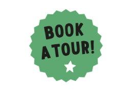 Book a tour logo